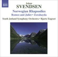 Johan Svendsen (1840-1911): Norwegian Rhapsodies, CD