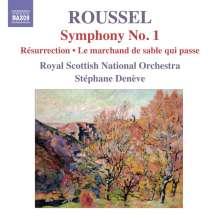 """Albert Roussel (1869-1937): Symphonie Nr.1 """"Le Poeme de la Foret"""", CD"""