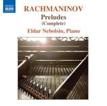 Sergej Rachmaninoff (1873-1943): 24 Preludes (Ges.-Aufn.), CD