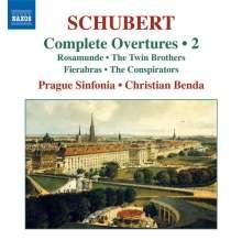 Franz Schubert (1797-1828): Sämtliche Ouvertüren Vol.2, CD
