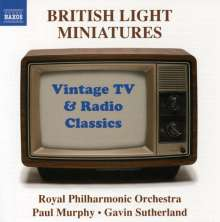 Royal Philharmonic Orchestra: British Light Miniatures, CD