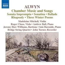 William Alwyn (1905-1985): Kammermusik & Lieder, CD