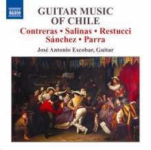 Jose Antonio Escobar - Guitar Music of Chile, CD