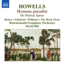 Herbert Howells (1892-1983): Hymnus Paradisi, CD