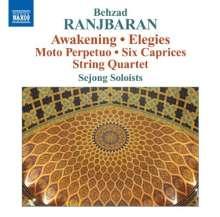 Behzad Ranjbaran (20.Jh.): Streichquartett, CD