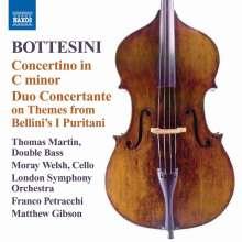 Giovanni Bottesini (1821-1889): Concertino c-moll für Kontrabass & Streicher, CD
