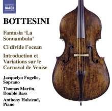 Giovanni Bottesini (1821-1889): Werke für Kontrabass & Klavier, CD