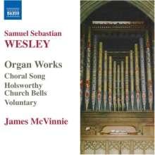 Samuel Sebastian Wesley (1810-1876): Orgelwerke, CD
