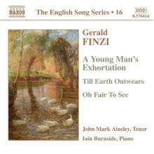 Gerald Finzi (1901-1956): Liederzyklen opp.13b,14,19a, CD