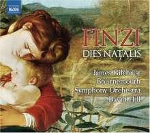 Gerald Finzi (1901-1956): Dies natalis op.8 (Kantate), CD