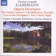 Florian Leopold Gassmann (1729-1774): Opern-Ouvertüren, CD