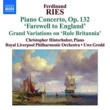 Ferdinand Ries (1784-1838): Klavierkonzerte Vol.3, CD