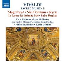 Antonio Vivaldi (1678-1741): Magnificat RV 610/611, CD