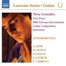 Nirse Gonzales - Guitar Recital, CD