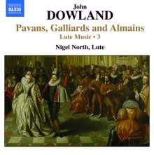 John Dowland (1562-1626): Lautenwerke Vol.3, CD