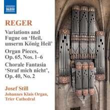 Max Reger (1873-1916): Sämtliche Orgelwerke Vol.9, CD