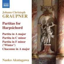 Christoph Graupner (1683-1760): Cembalo-Partiten, CD