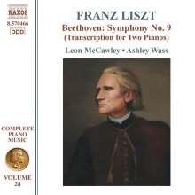 Franz Liszt (1811-1886): Klavierwerke Vol.28, CD