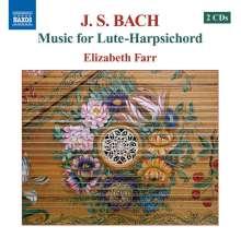 Johann Sebastian Bach (1685-1750): Musik für Lauten-Cembalo, 2 CDs