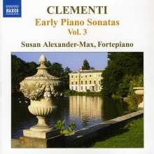 Muzio Clementi (1752-1832): Klaviersonaten Vol.3, CD