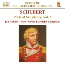 """Franz Schubert (1797-1828): Lieder """"Romantische Dichter"""" Vol.6, CD"""