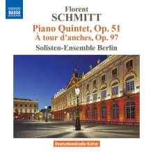 Florent Schmitt (1870-1958): Klavierquintett op.51, CD