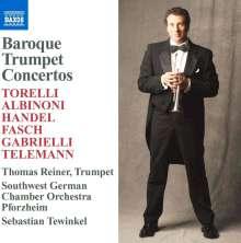 Thomas Reiner - Baroque Trumpet Concertos, CD