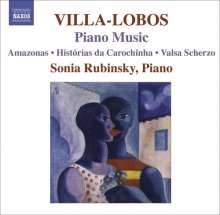Heitor Villa-Lobos (1887-1959): Klavierwerke Vol.7, CD