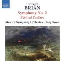 Havergal Brian (1876-1972): Symphonie Nr.2, CD
