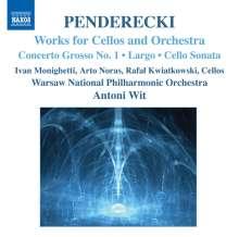 Krzysztof Penderecki (geb. 1933): Werke für Cello & Orchester, CD