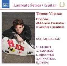 Thomas Viloteau - Guitar Recital, CD