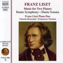 Franz Liszt (1811-1886): Klavierwerke Vol.26, CD