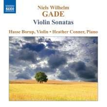 Niels W. Gade (1817-1890): Sonaten für Violine & Klavier Nr.1-3, CD