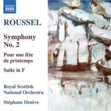 Albert Roussel (1869-1937): Symphonie Nr.2, CD
