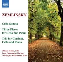 Alexander von Zemlinsky (1871-1942): Sonate für Cello & Klavier a-moll, CD