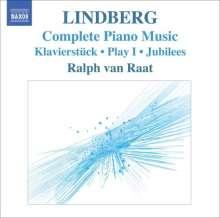 Magnus Lindberg (geb. 1958): Sämtliche Klavierwerke, CD