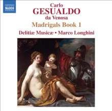 Carlo Gesualdo von Venosa (1566-1613): Madrigali Buch 1, CD
