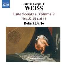 Silvius Leopold Weiss (1687-1750): Lautensonaten Vol.9, CD