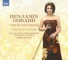 Benjamin Godard (1849-1895): Violinkonzerte Nr.1 & 2 (op.35 & op.131), CD