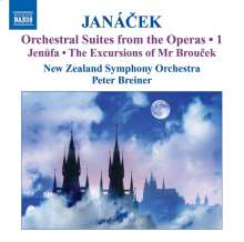 Leos Janacek (1854-1928): Orchestersuiten aus Opern Vol.1, CD