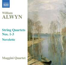 William Alwyn (1905-1985): Streichquartette 1-3, CD