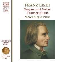 Franz Liszt (1811-1886): Klavierwerke Vol.33, CD
