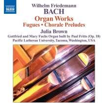 Wilhelm Friedemann Bach (1710-1784): Orgelwerke, CD