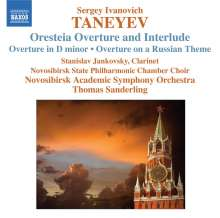 Serge Tanejew (1856-1915): Orchesterwerke, CD