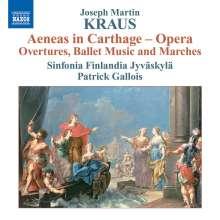 """Josef Martin Kraus (1756-1792): Ouvertüren, Ballettmusik & Märsche aus """"Aeneas in Carthage"""", CD"""