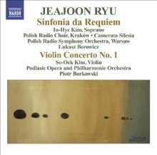 Jeajoon Ryu (geb. 1970): Sinfonia da Requiem op.11, CD