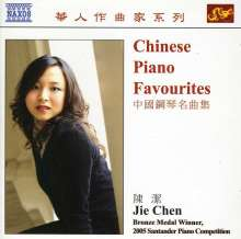 Jie Chen - Chinese Piano Favourites, CD