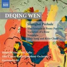 Deqing Wen (geb. 1958): Shanghai Prelude für Cello & Orchester, CD