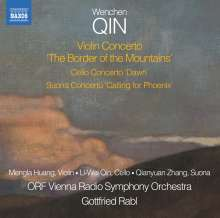 """Wenchen Qin (geb. 1966): Violinkonzert """"The Border of the Mountains"""", CD"""
