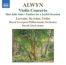 William Alwyn (1905-1985): Violinkonzert, CD